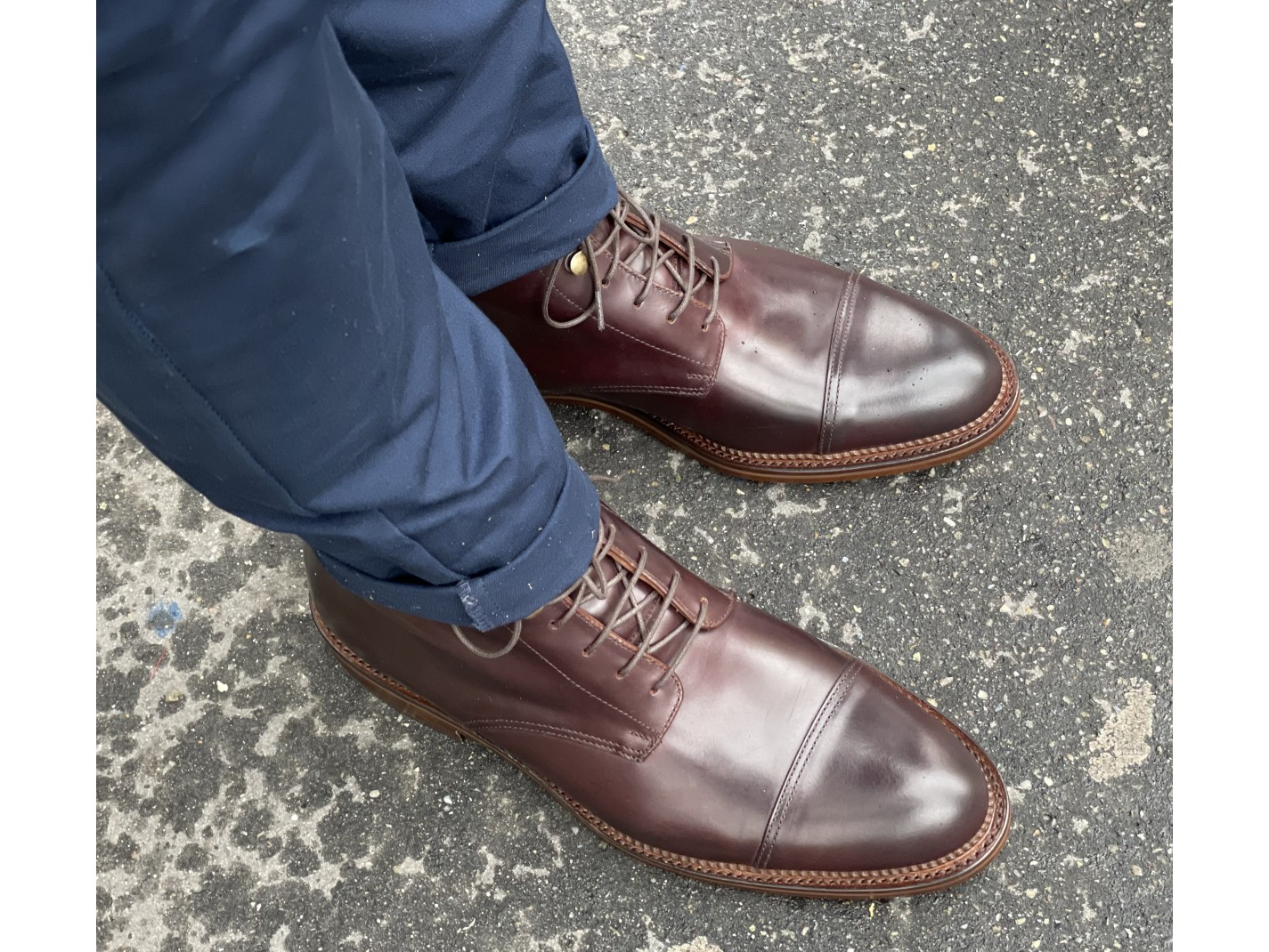 MOCASSIN DRAGON Marron