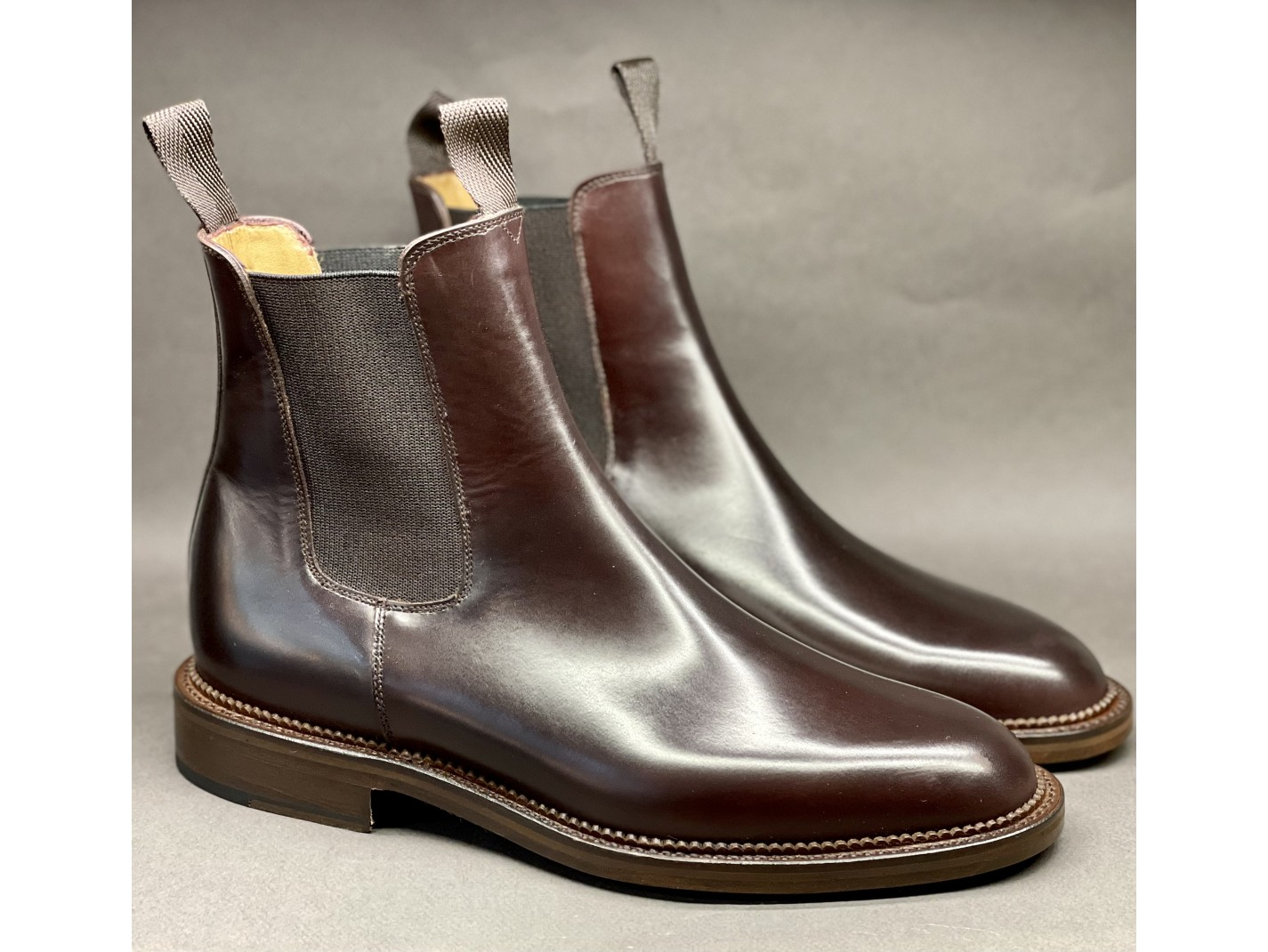 LOAFERS PICOTS Burgundy