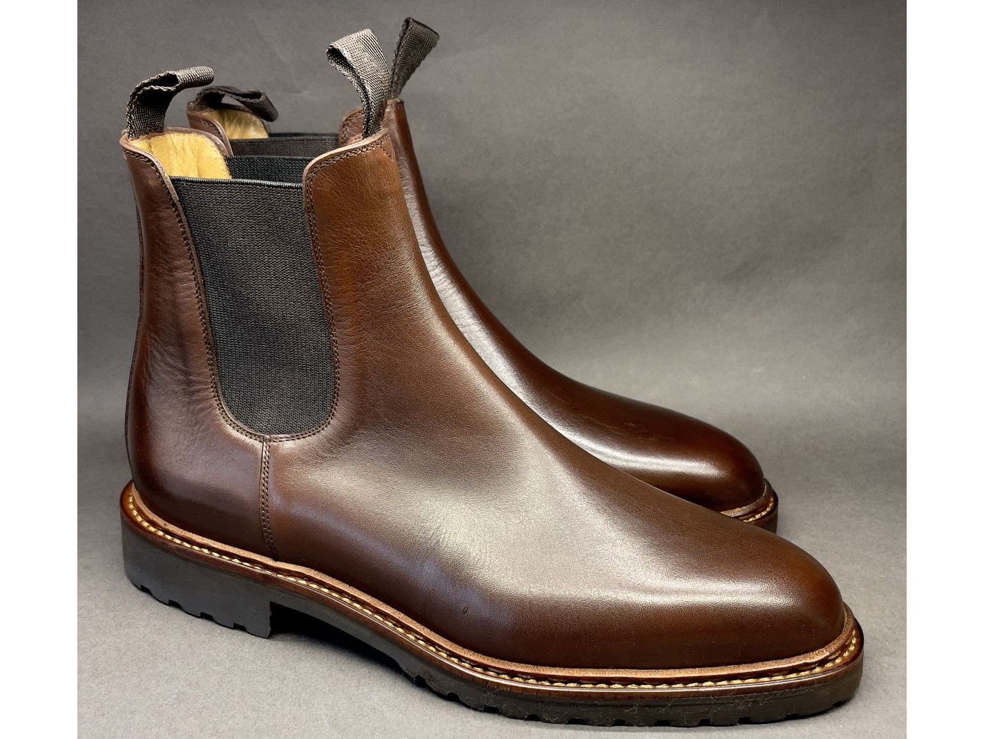 LOAFERS PICOTS Dark Brown